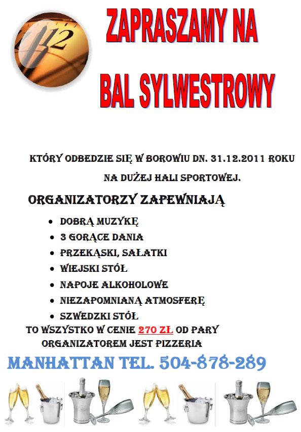 Zaproszenie Na Bal Sylwestrowy